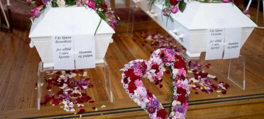 – Det er sterkt: Søstrene som omkom i lynnedslaget i Hareid, ble bisatt i Ris kirke i dag