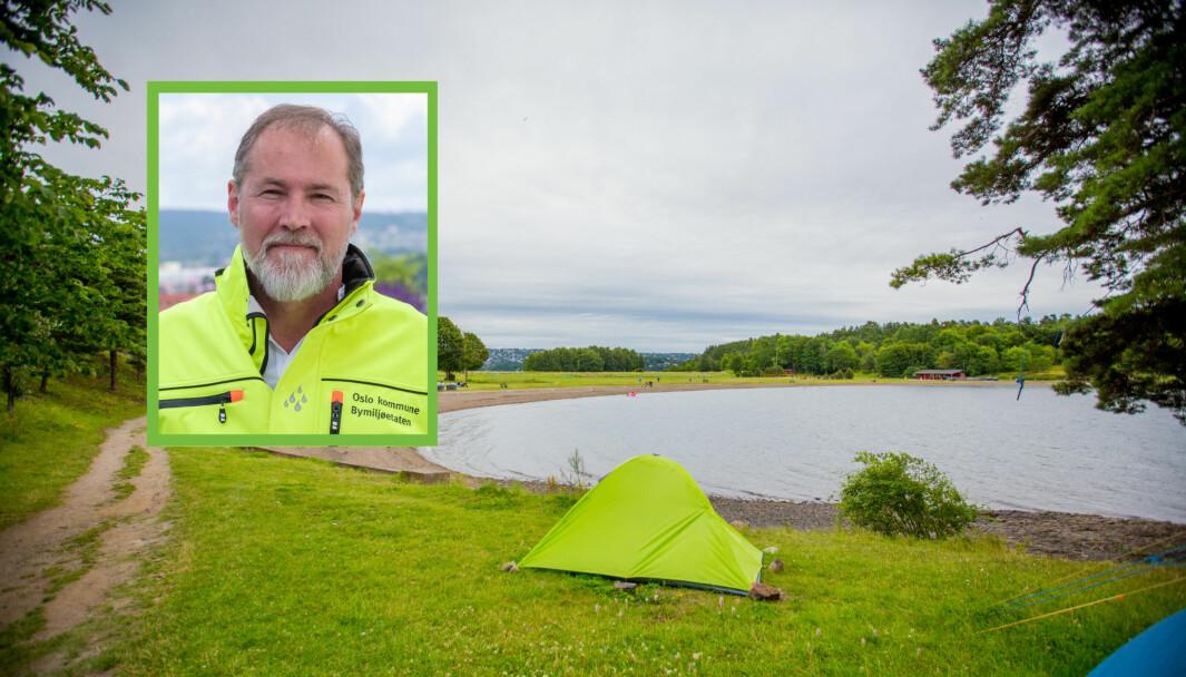 — Ved å innføre en syvdagersregel har vi ikke fjernet en tradisjon for telting på Langøyene, men gitt enda flere mulighet til å ta del i tilbudet, sier kommunikasjonsdirektør Richard Kongsteien.