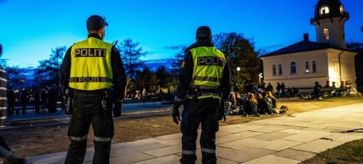 Festing i parken: Politiet ba folk dempe musikken på St. Hanshaugen