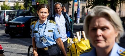 Oslopolitiet oppklarer færre voldssaker mot sine egne. Samtidig har vold mot politiet økt