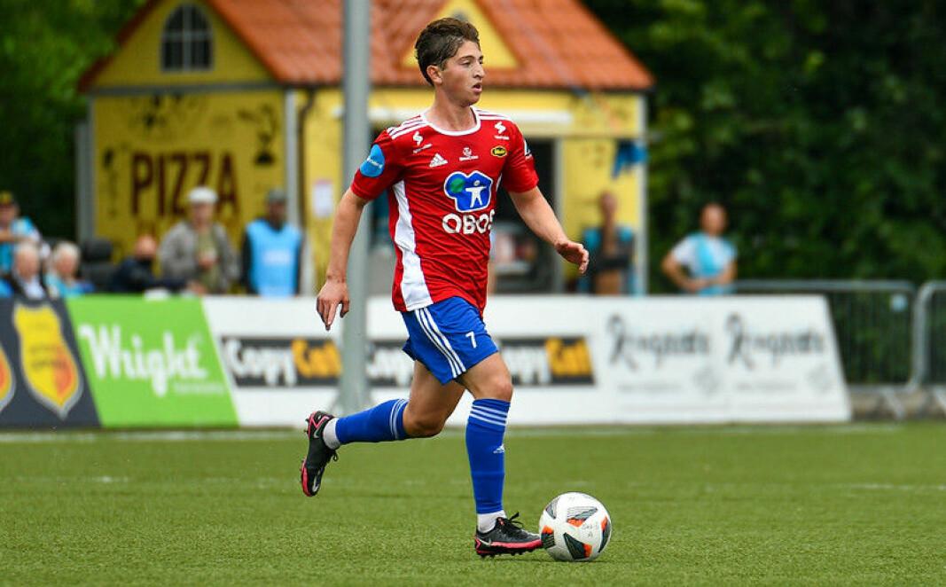 Marcus Melchior målskårer og dagens Skeid-spiller.