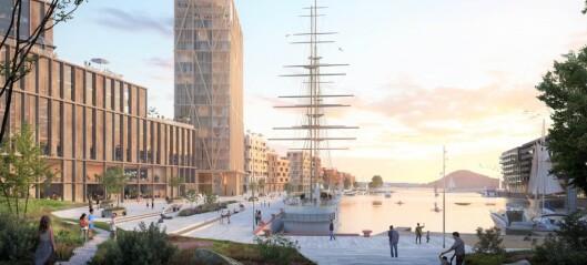 Grønlikaia er neste brikke i Fjordbyen - kommunen mener høyhus går ut over boligkvaliteten