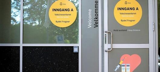 Drop-in vaksinering for uvaksinerte i Bydel Frogner