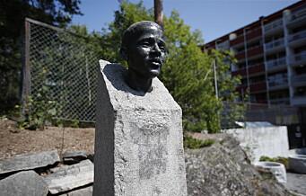 «Breivik fikk rett»: Minnesmerket til Benjamin Hermansen utsatt for hærverk