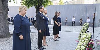 Tiårsmarkeringen for 22. juli: — Vi har ikke stoppet hatet