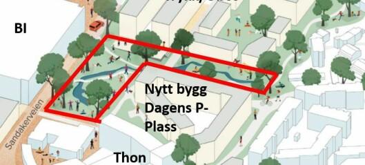 Avantor og Obos vinner frem i Nydalen, på tross av ønske fra byrådet. 30.000 innbyggere, men ingen park eller sammenhengende grøntområde