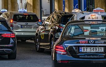 Antallet taxiløyver i Oslo har økt med 51 prosent