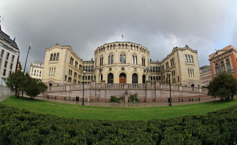 Oversvømmelse på Stortinget