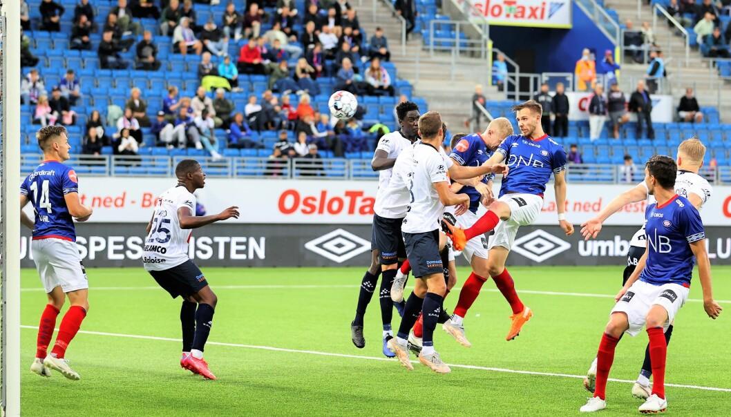 Ivan Näsbergs 2-0-scoring ti minutter før slutt ga Vålerenga et lite håp, men scoringen kom for sent.