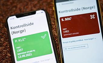 6 av 10 uvaksinerte i Oslo er født i utlandet
