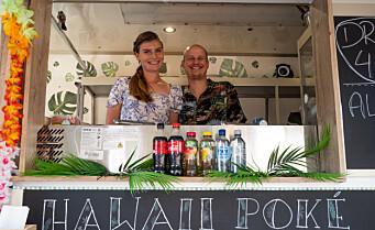 Denne helgen er det food truck-festival på toppen av St. Hanshaugen