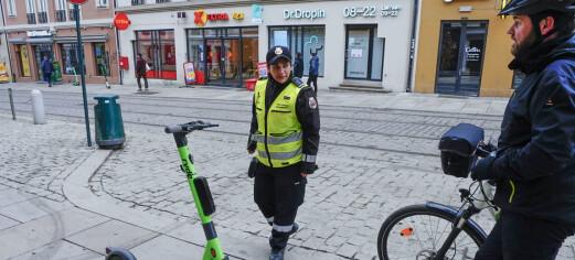 Bybetjenter i Oslo blir spyttet etter og drapstruet