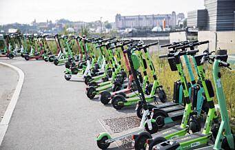 Bare ett selskap har nattestengt elsparkesyklene i Oslo