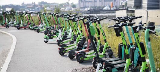 Oslo skyhøyt over elsparkesykkel-tall i Europa: — Brutal overetablering skal ikke få avgjøre antall ståmopeder