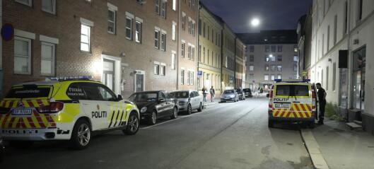 Knivstikking på nedre Grünerløkka – en mann pågrepet og siktet for forsøk på drap