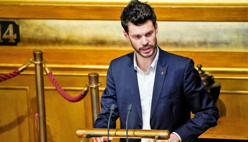 — Kampen for å minske forskjellene i Oslo starter på Stortinget, mener Rødt-leder og listetopp i Oslo, Bjørnar Moxnes.