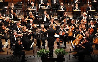 Tono krever millionbeløp fra Oslo-Filharmonien