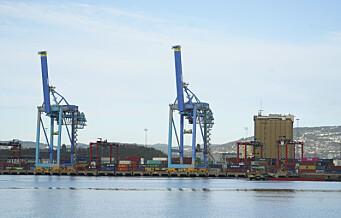 Oslo havn planlegger å bygge landstrømanlegg for konteinerskip