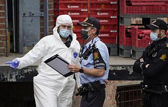 Tre pågrepet i Sverige etter grovt postkontor-ran på Helsfyr