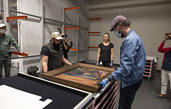 Skrik er nå på plass i nye MUNCH. Den 22. oktober åpner museet dørene
