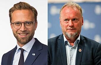 Høyre og AP er enige. Både Raymond og Nikolai vil flytte flere tusen statsansatte ut av sentrum
