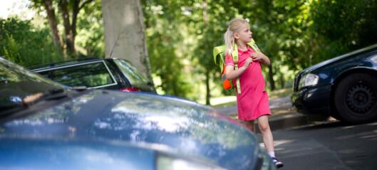 Trygg Trafikk: – Ikke kjør, la barna sykle eller gå til skolen
