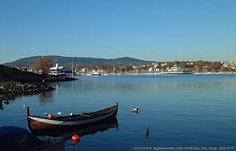 MDG vil totalfrede Oslofjorden