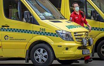 Syklist alvorlig skadd og til sykehus etter ulykke på Kjelsås