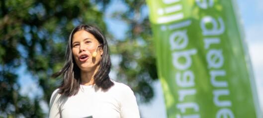 Lan Marie Berg (MDG): - Legg ned all oljeutdanning i Norge. Folk utdannes til arbeidsledighet