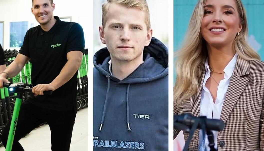 Norgessjef i Ryde Johan Olovsson, norgessjef i TIER, Morten Askeland, og norgessjef i Voi, Christina Moe Gjerde, fikk ikke gjennomslag for midlertidig forføyning mot Oslo kommune.
