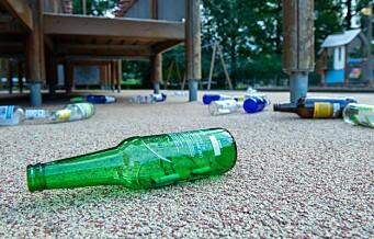 Mindreåriges fyllefest i Frognerparken: Søppel, tomgods og glasskår flyter dagen derpå