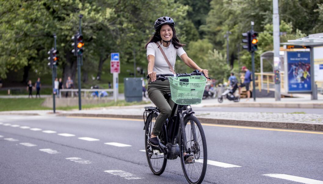 – Det er ikke uvanlig at folk er mer miljøengasjerte i byene. Det har vi også sett på andre områder, sier MDGs toppkandidat i Oslo, Lan Marie Berg.