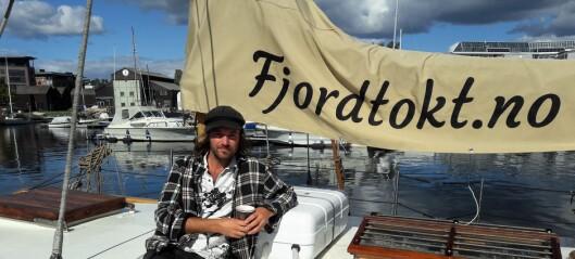 Eivind er skipper på Oslos minste charterbåt: - Vi har sosial profil og en halvliter koster ikke 100 kroner