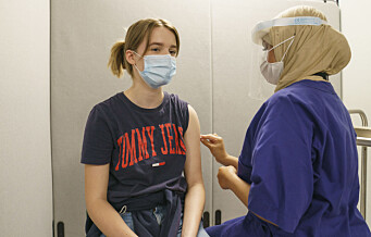 Oslo framskynder vaksinering av 16- og 17-åringer