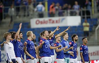 Vålerenga herjet med Stabæk – to mål fra innbytter Christensen