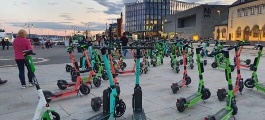 Tolv aktører får leie ut elsparkesykler i Oslo. Se hvilke