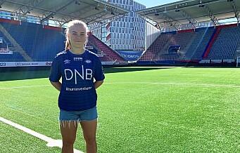 Olaug Tvedten (21) fra Avaldsnes er hentet inn til Vålerenga damer. – Jeg er klarer knapt vente
