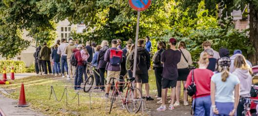 Testkollaps i Oslo. Kommunen går over til drop-in test