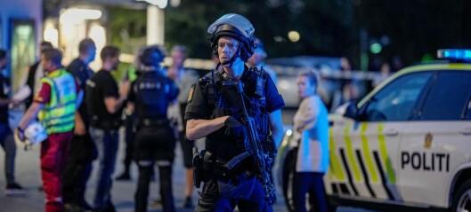 Mann skutt ved Brynseng T-banestasjon. Politiet mener det er én gjerningsperson