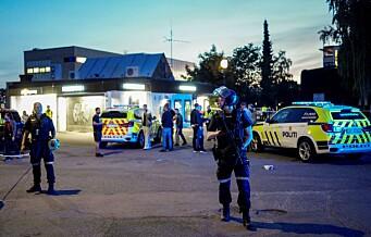 En person pågrepet etter T-baneskytingen på Brynseng