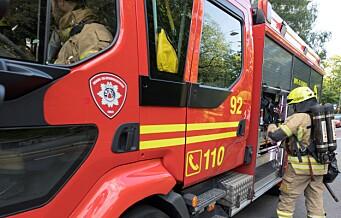 Etterslukking tok tid: Trafikale problemer i Vogts gate