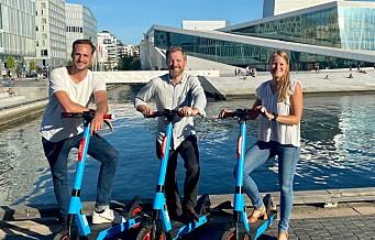 Nok et elsparkesykkelfirma etablerer seg i byen: Nederlandske Dott