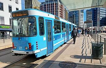 5,6 statlige milliarder til kollektivtrafikken i osloområdet