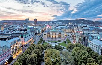 Oslo mørkerødt på EUs smittekart