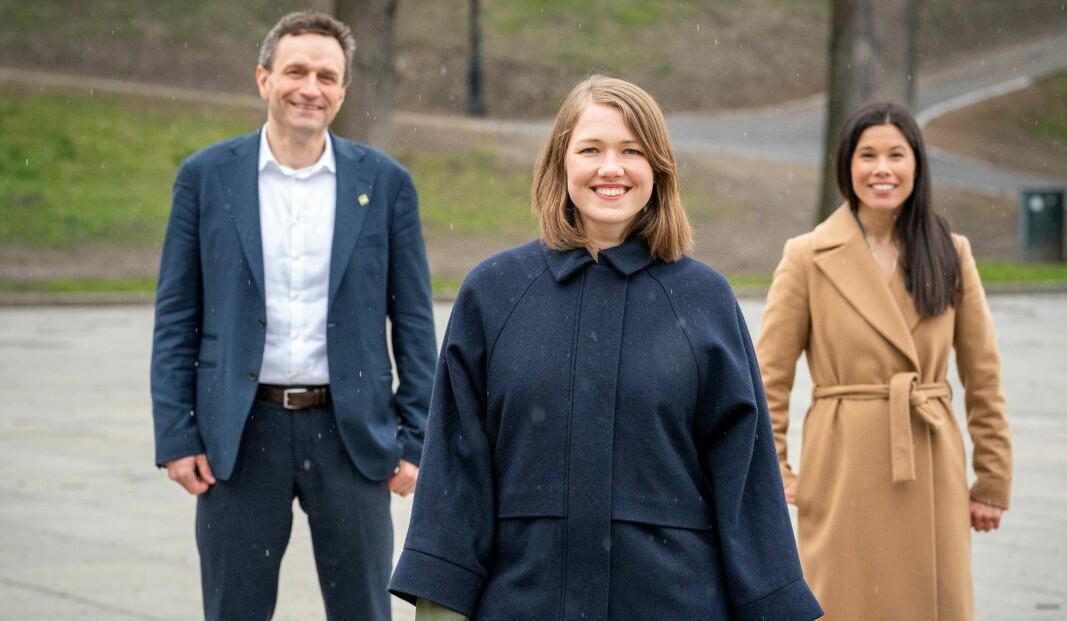 MDG-troikaen Arild Hermstad, Une Bastholm og Lan Marie Berg ser alle ut til å bli valgt inn på Stortinget ved høstens valg.