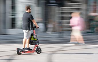 Ti personer om dagen ble skadet på elsparkesykler i Oslo i august. Faktisk en nedgang