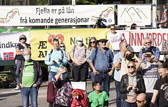 Flere politikere boikottet Motvind Norge-demonstrasjon foran Stortinget