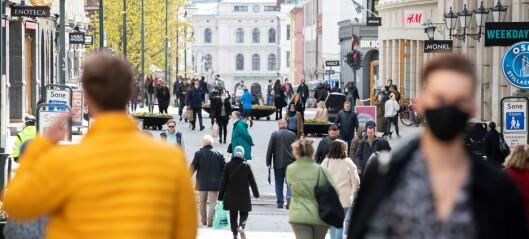 316 nye koronasmittede registrert i Oslo siste døgn