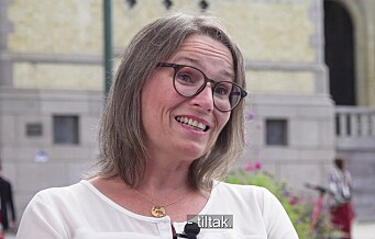 Trine Lise Sundnes (Oslo Ap): - Handelsnæringa står i sin tids oljekrise. Se videoen