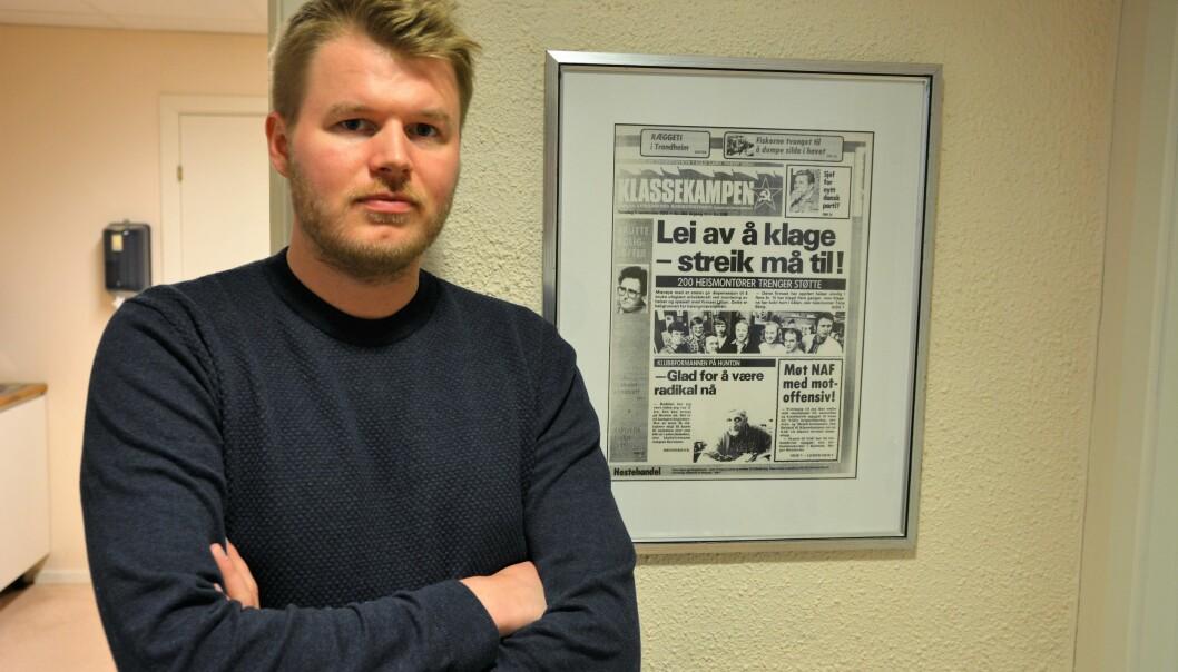 – Våre medlemmer vil snu i døra om de ser én eneste gul streikevest, sier Markus Hansen, leder av Heismontørenes fagforening.